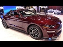 2018 Ford Mustang Ecoboost Coupe Premium Exterior and Interior Walkaround 2018 Chicago Auto Show