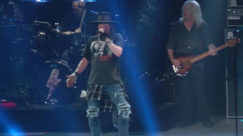 AC-DC W-Axl Rose - Thunderstruck (Madison Square Garden,Nyc) 9.14.16