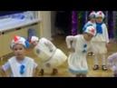 Снеговик отжигает в детском саду Очень смешное видео