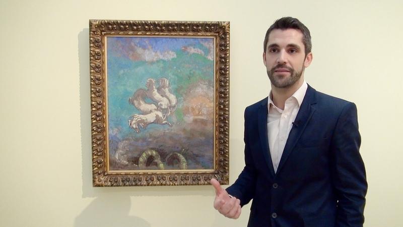 Odilon Redon à la Fondation Beyeler. Visite de l'exposition avec conservateur Raphaël Bouvier