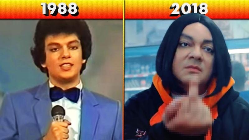 ФИЛИПП КИРКОРОВ - КАК МЕНЯЛИСЬ ХИТЫ ПЕВЦА 1988-2018