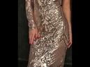 Шикарное платье Modnica-shop, вырез на одно плечо, узор из пайеток, низ украшен страусиными перьями