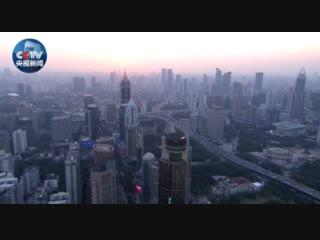 К открытию Китайской импортной ЭКСПО- Шанхай с высоты птичьего полета__1