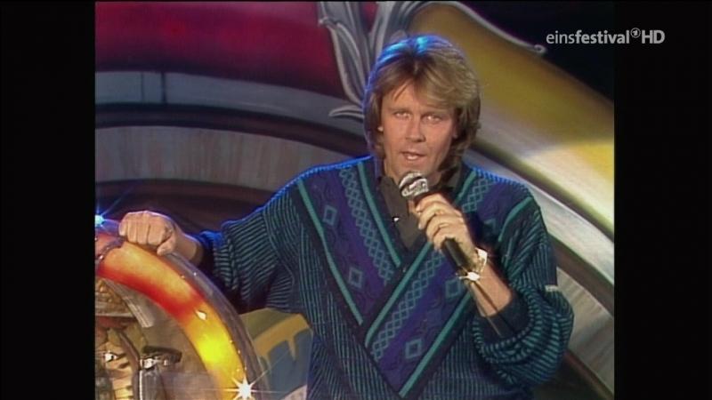 Howard Carpendale - Sag ihm, dass du gehst (WWF-Club 07.11.1986) - песня Дитэра Болена (Dieter Bohlen)