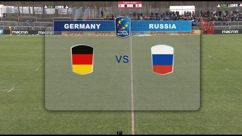 Регби. Чемпионат Европы 1А - Германия - Россия, 18.03.2018