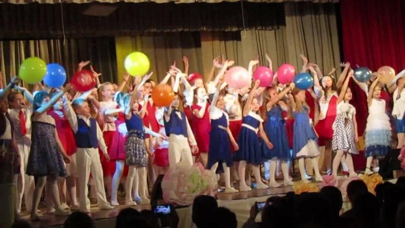 17 марта 2018 года. Юбилейный отчетный концерт школы. Эстрадный ансамбль Новый век