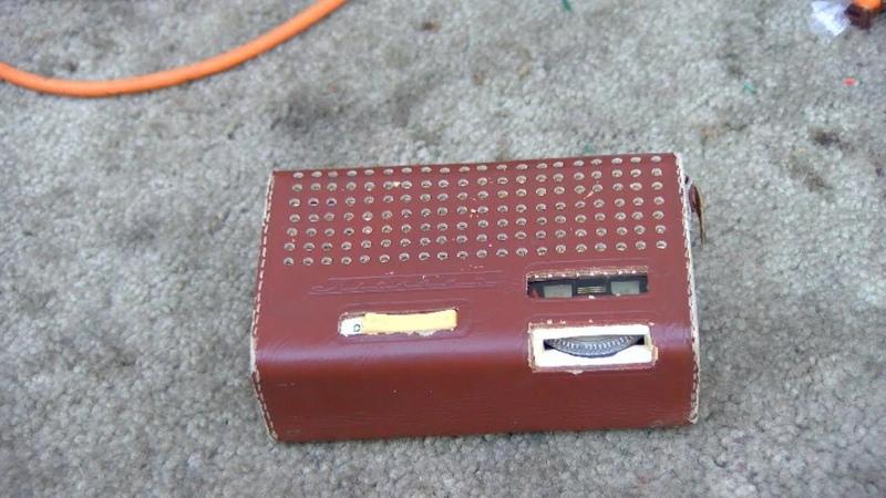 1964 USSR Pocket Transistor Radio Планета Radio Planeta Repair
