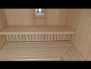 Уникальный монтаж двухярусных полков в парной._Making a sauna