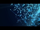 Molecular Structure In 3D Space Motion Graphics - Videohive template
