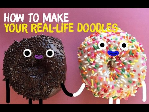 How to make your Real Life Doodles
