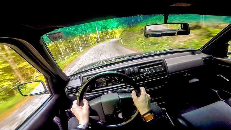 Volkswagen Golf G60 Rallye 16V 210HP - POV Drive Onboard Lets Drive
