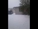 Kar Kar boldi ainalamiz 😕