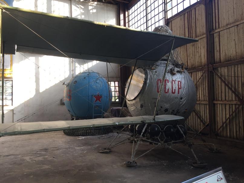 Музей ВВС в Монино. Спускаемые капсулы космических кораблей