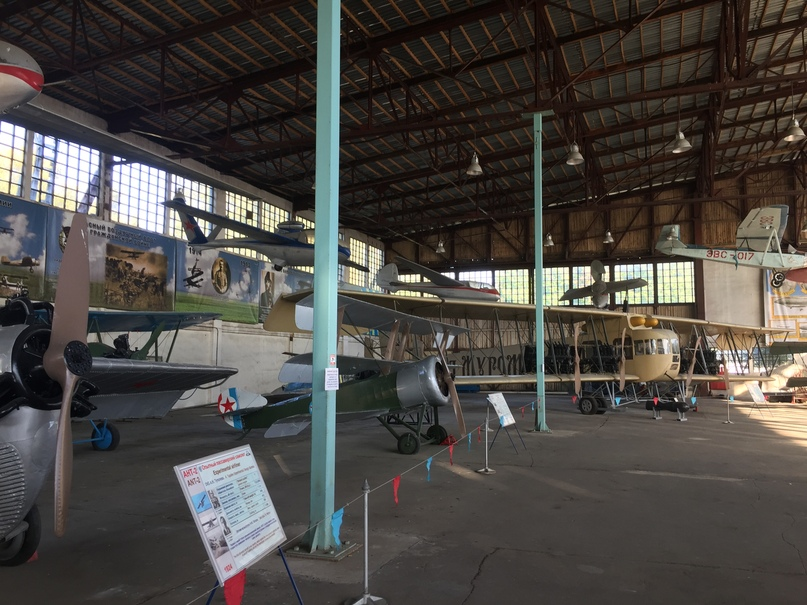 Музей ВВС в Монино. Центральный музей ВВС