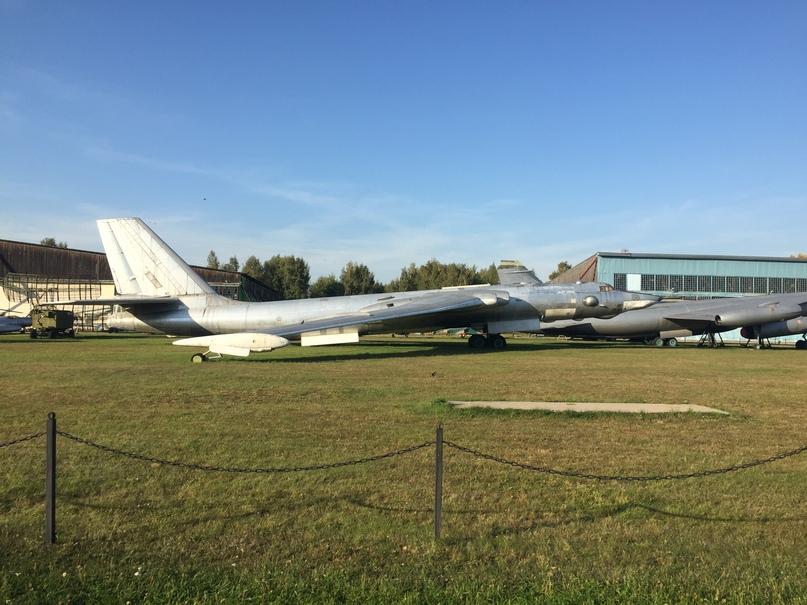 Музей ВВС в Монино. Бомбардировщик 3МД