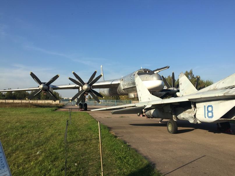 Музей ВВС в Монино. Ту-95МС