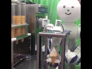 Japanese ice cream robot is next level