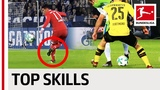 James, Pulisic, Ribery &amp Co. - Best Skills of 201718
