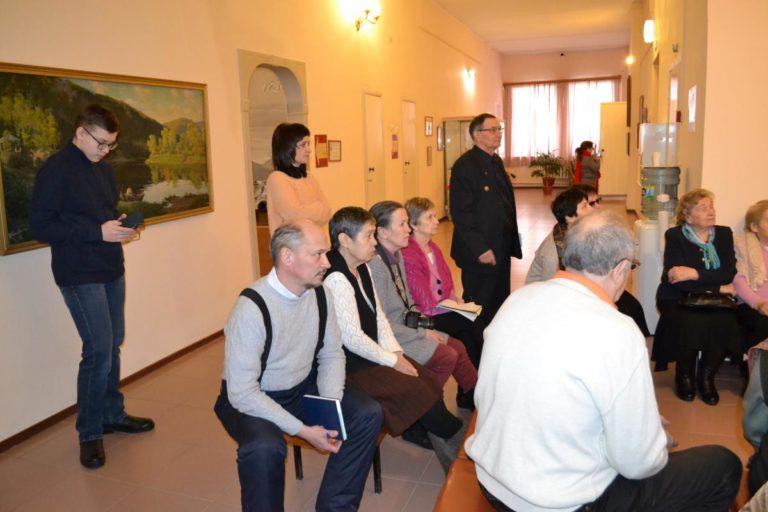 8 февраля в Красноуфимском краеведческом музее состоялось собрание Красноуфимского общества краеведов на военно-патриотическую тему.