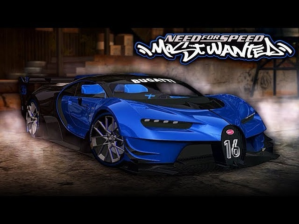 NFS Most Wanted | 2018 Bugatti Vision GT Mod Gameplay [1440p60]