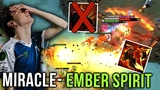 Miracle- Ember Spirit EPIC 1 HOUR Game with Insane Reflexes &amp Dodges - Dota 2