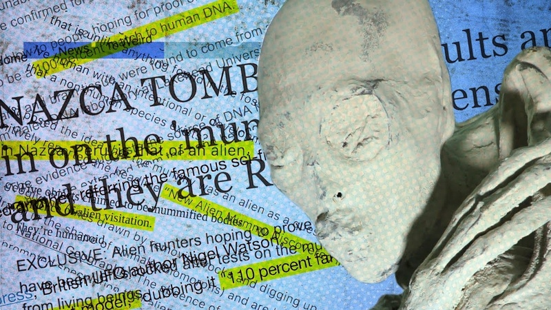 Мумия гуманоидаМАРИЯ Наска - Результаты ДНК Анализа. Nazca | DNA Results Debunking The Headlines