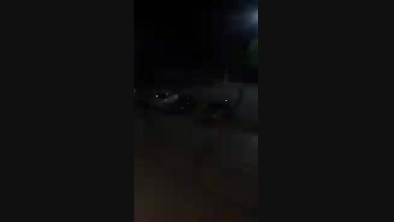 Видео, публикуемое в соцсетях, как картина ночного боя в Урюпинске