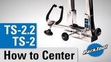 How To CenterCalibrate the TS-2 &amp TS-2.2 Professional Wheel Truing Stands