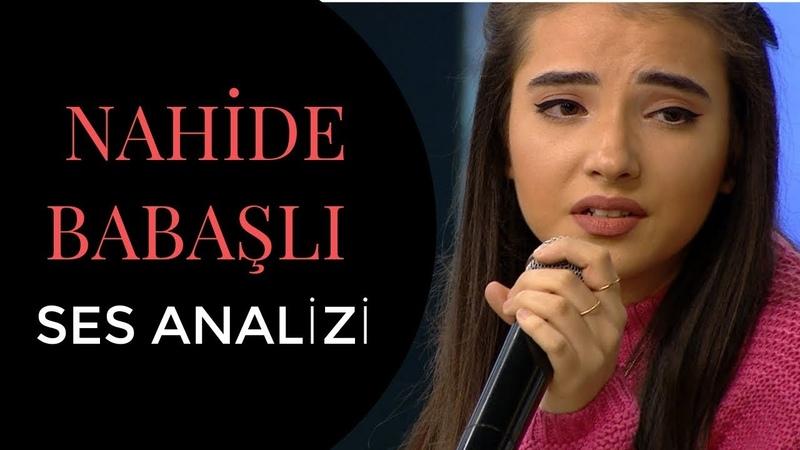 Nahidə Babaşlı Ses Analizi (Huzur Veren Ses)