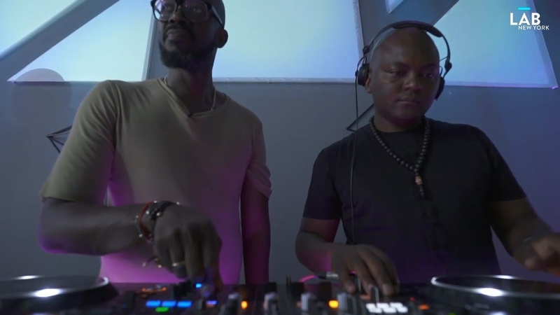 Black Coffee And Themba at The Lab NYC
