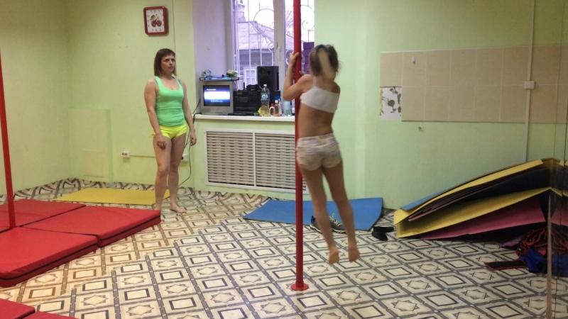 Полденс - тренировка детей