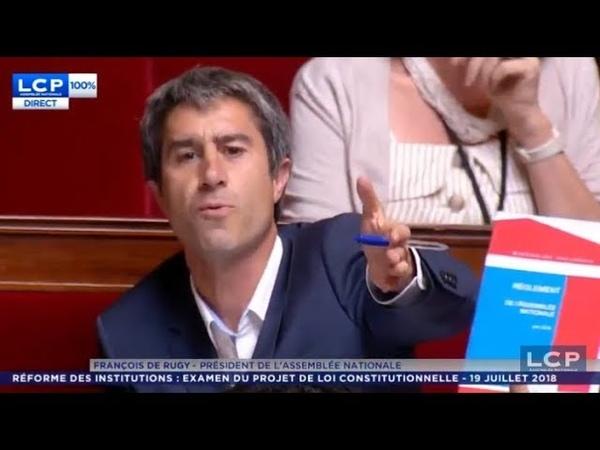 Assemblée : Incroyable échange entre De Rugy et Ruffin/Mélenchon sur A. Benalla! 19/7