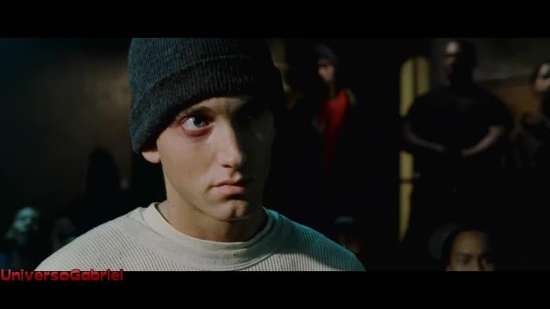 8 Mile: Lotto (Nashawn 'Ox' Breedlove) vs. B-Rabbit (Eminem) (Freestyle over ONYX's Last Dayz) (2002)
