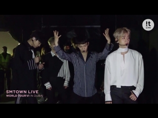 The behind the scenes of SMTOWN LIVE WORLD TOUR VI in DUBAI
