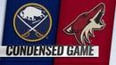 10/13/18 Condensed Game: Sabres @ Coyotes
