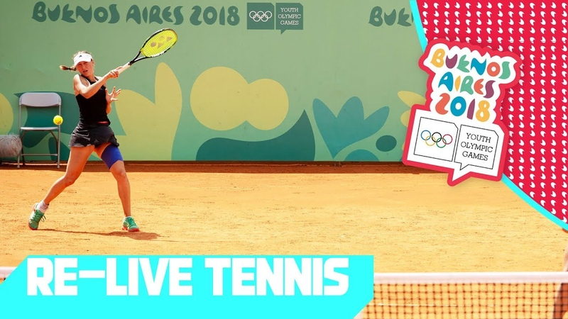 RE-LIVE | Day 07: Tennis | Youth Olympic Games 2018 |Buenos Aires