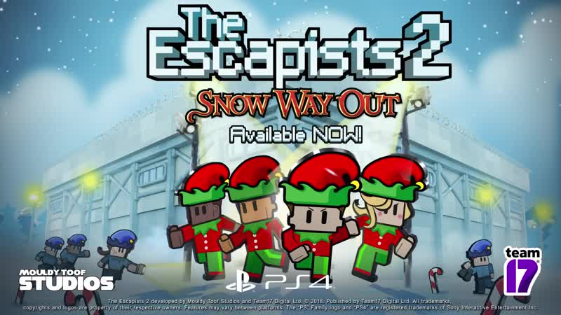 The Escapists 2 Snow Way Out Update PS4