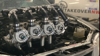 We Installed QUAD TURBOS for CHEAP