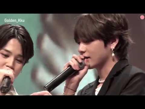 [ENG] Jungkook Jin Doing Aegyo| ARMYs Worry Jimin Will Hurt His Knee During Fake Love Choreography