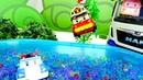 Мультики про машинки. Робокары купаются в бассейне. Видео для детей.