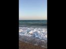 Неспокойное синее море