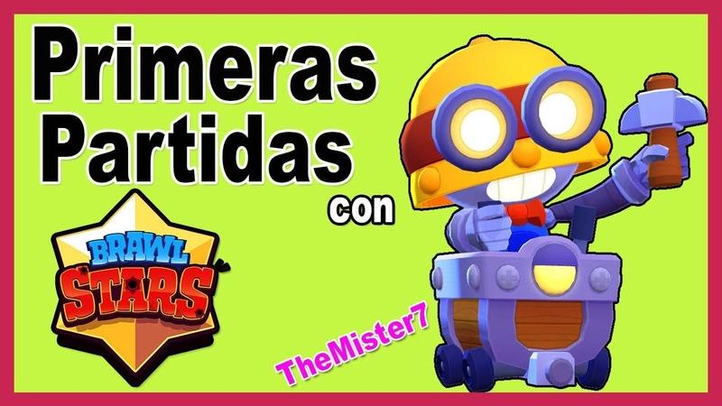 🔅 Primera Vez Jugando【CON CARL NUEVO BRAWLER】▷ Brawl Stars Gameplay 👈👀👍