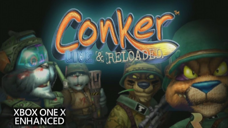 Conker: Live Reloaded - Xbox One X Enhanced 4k Multiplayer Gameplay 1 (2160p)