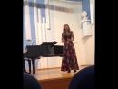 Выпускница Синей птицы Елизавета Заболотская