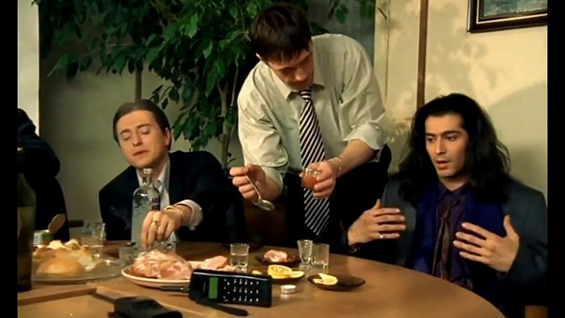 Отрывок из сериала Бригада - Разговор Белого с Фаром - Ты кинул своего барата / 7 Серия / HD 1080