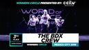 The BDX Crew   3rd Place Upper   Winners Circle   World of Dance Mexico City 2019   WODMX19   Danceprojectfo
