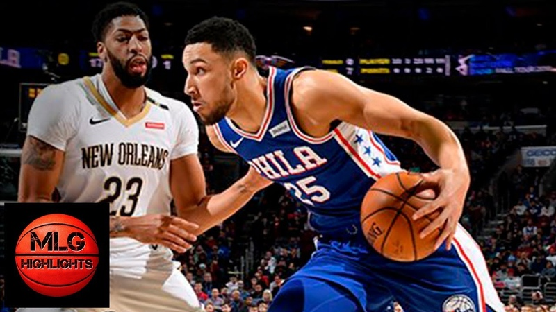 Philadelphia Sixers vs New Orleans Pelicans Full Game Highlights | 11.21.2018, NBA Season