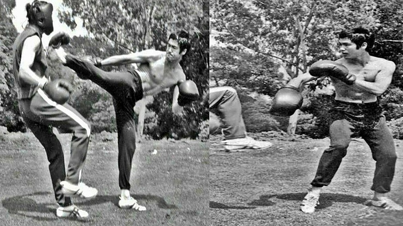 ☯ Bruce Lee _ Fighting Technique _ Creating Your Style ☯