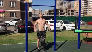 POWER WORKOUT. PULL UPS 80KG 3x1