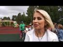 Ольга Чураева покорила сердца детей и прониклась скандинавской ходьбой